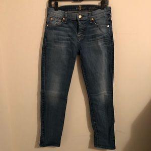 7 for all man kind Josphina Skinny boyfriend jeans